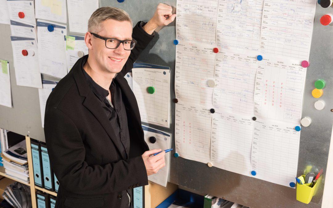 Dennis Wiesel, Projektingenieur, im Unternehmen seit Januar 2018