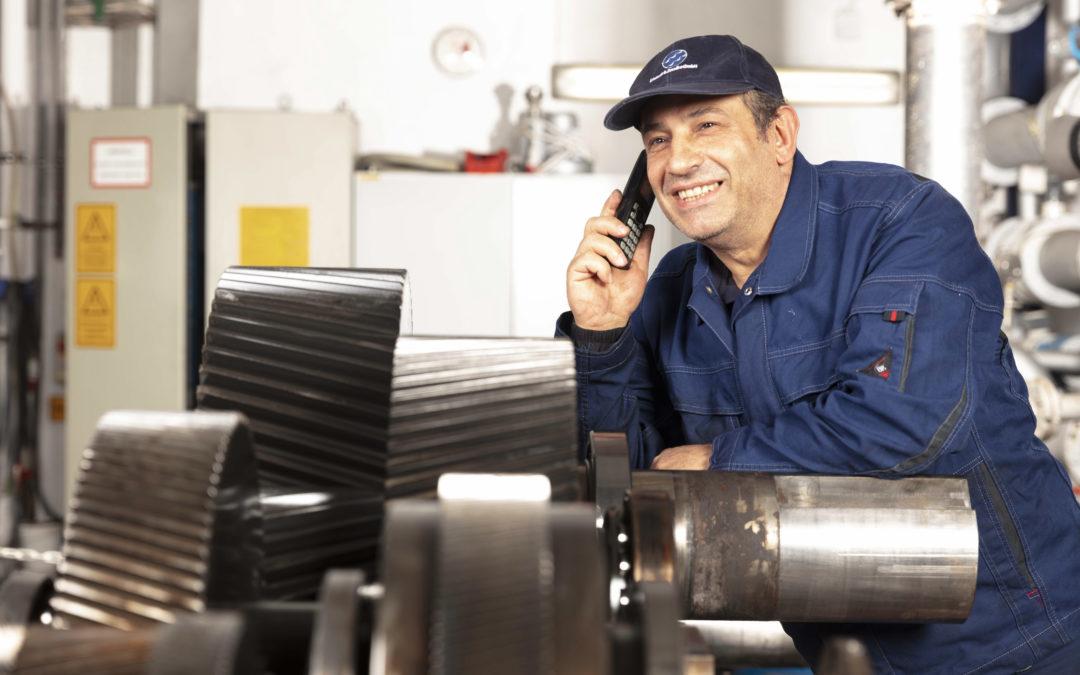 Ibrahim Sahinoglu, Werkstattleiter, im Unternehmen seit 1980
