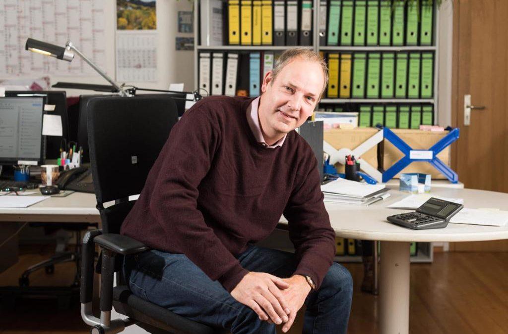 Axel Murcha, Betriebsleiter, im Unternehmen seit 1996